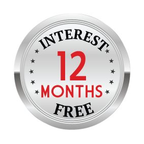 Interest Free (Limited Time!)